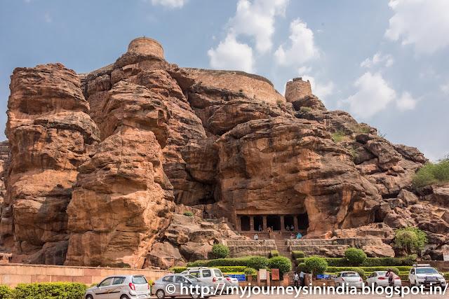 Badami Cave Temple View