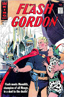 Flash Gordon v4 #3 1960s silver age science fiction comic book cover art by Al Williamson