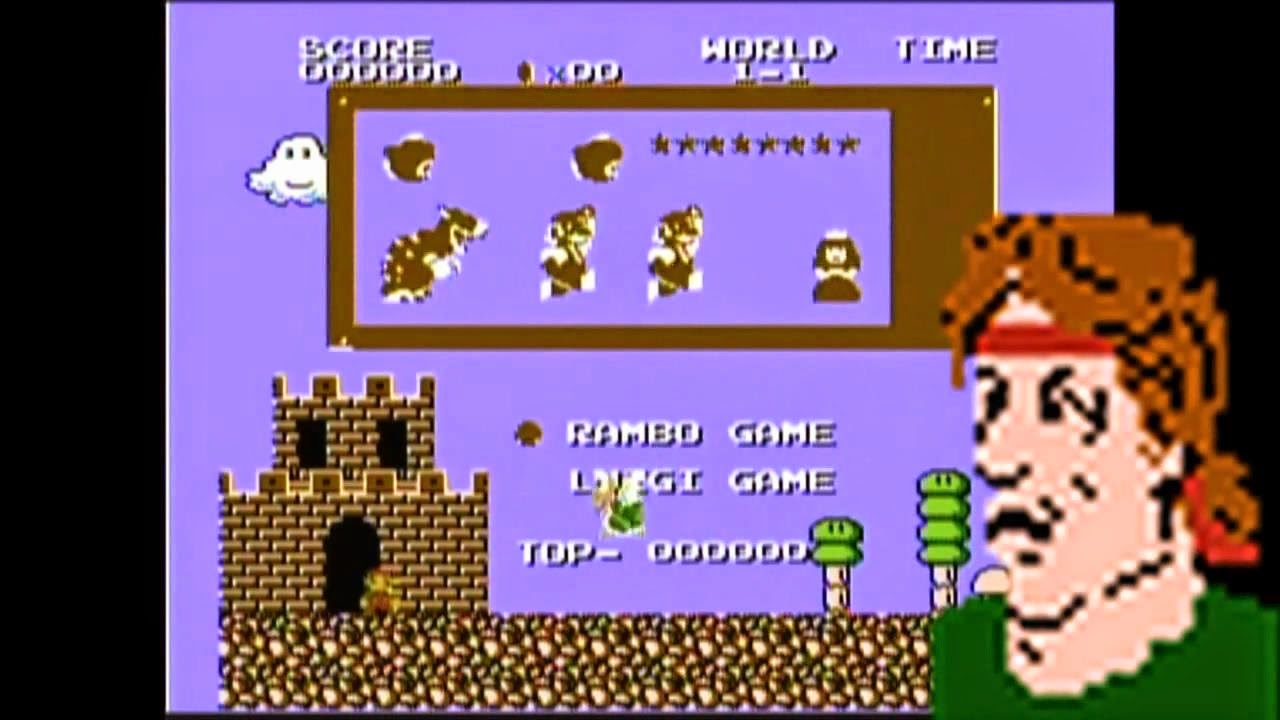 http://nerduai.blogspot.com.br/2014/07/james-mike-play-super-mario-4-rambo.html