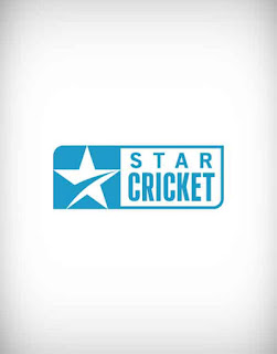 star cricket logo vector, star, cricket, logo, vector, channel, tv channel, tv, satellite, color, cable tv