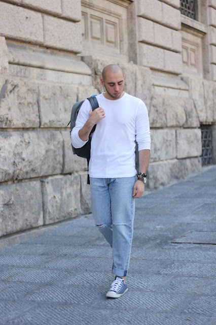 maglia maniche lunghe uomo