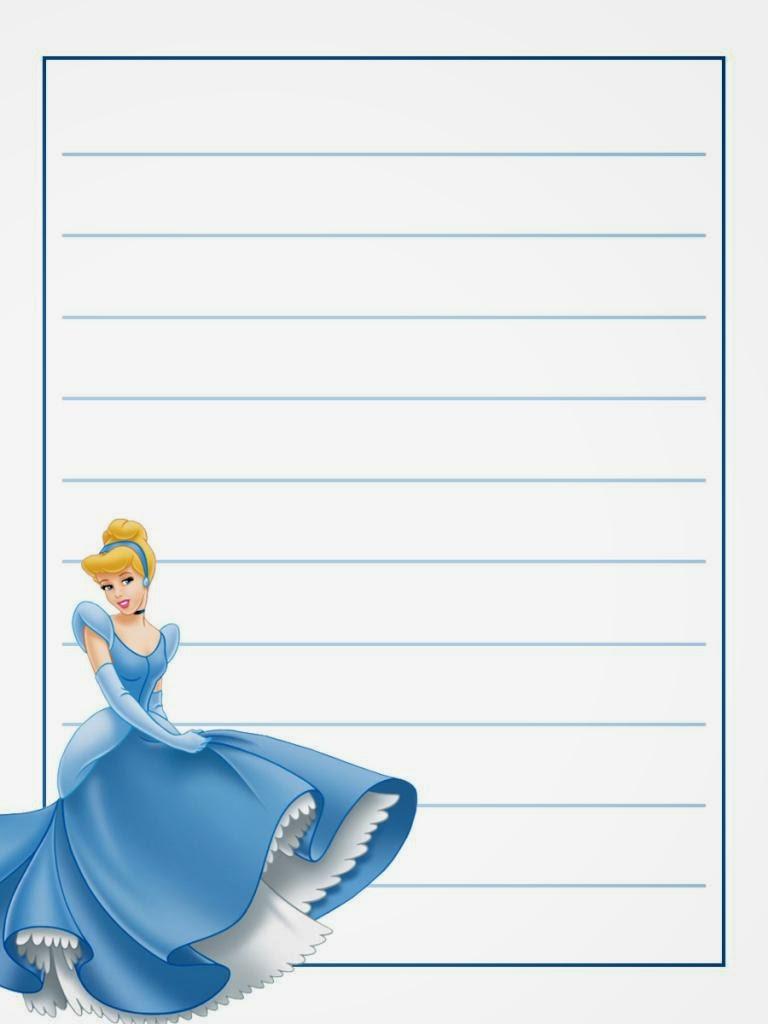 Cuaderno de Cenicienta para Imprimir Gratis. - Ideas y ...