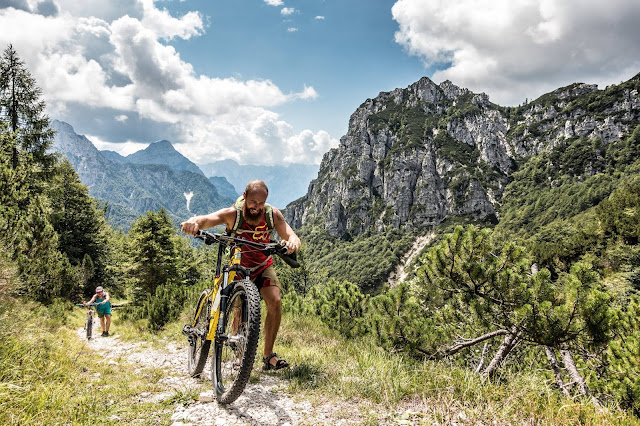 Mountainbiketour inklusive GPX-Track Val Dogna