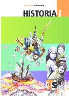 Libro de TelesecundariaHistoriaISegundo gradoVolumen IILibro para el Alumno2016-2017