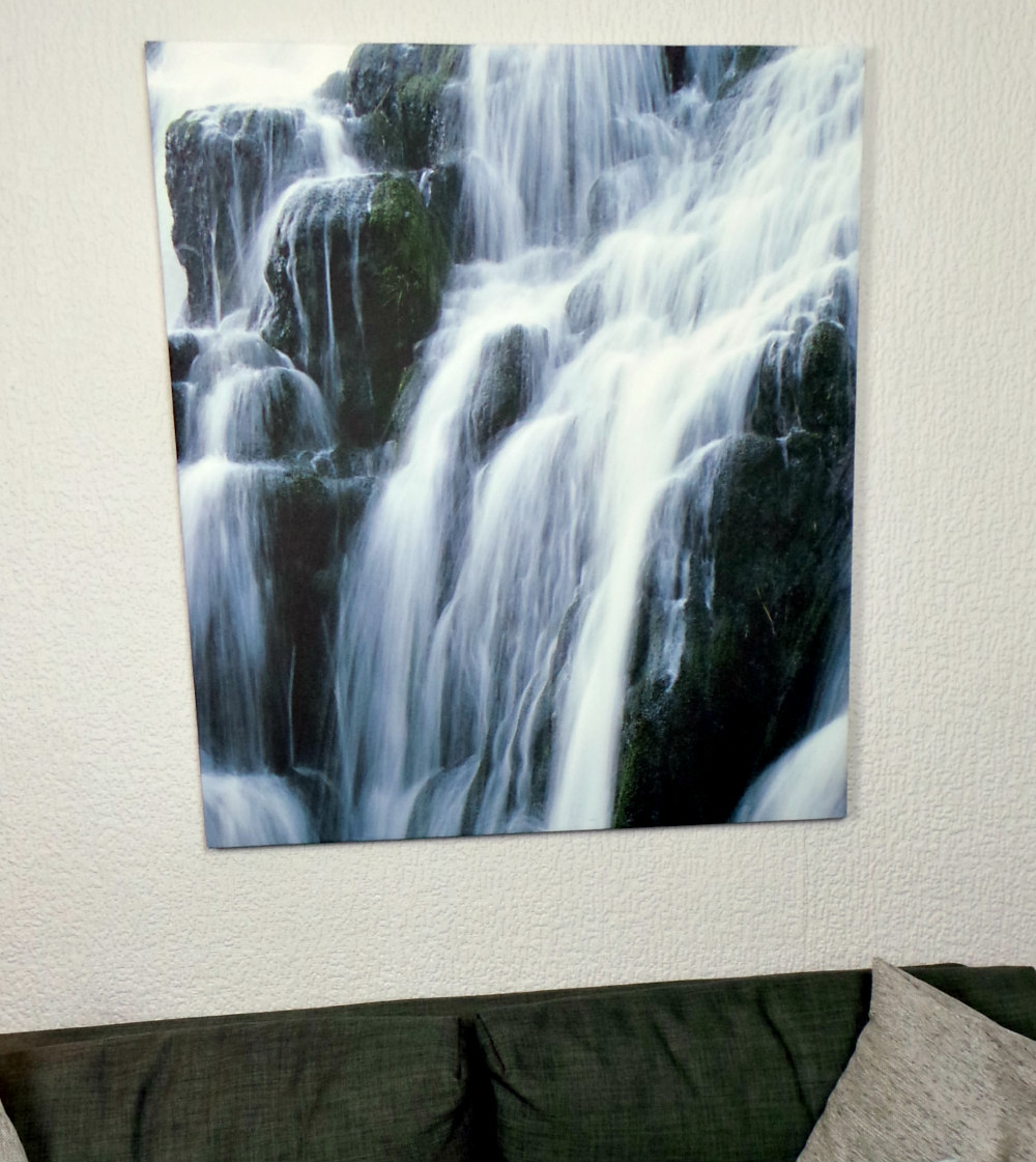 Photowall Waterfall Canvas