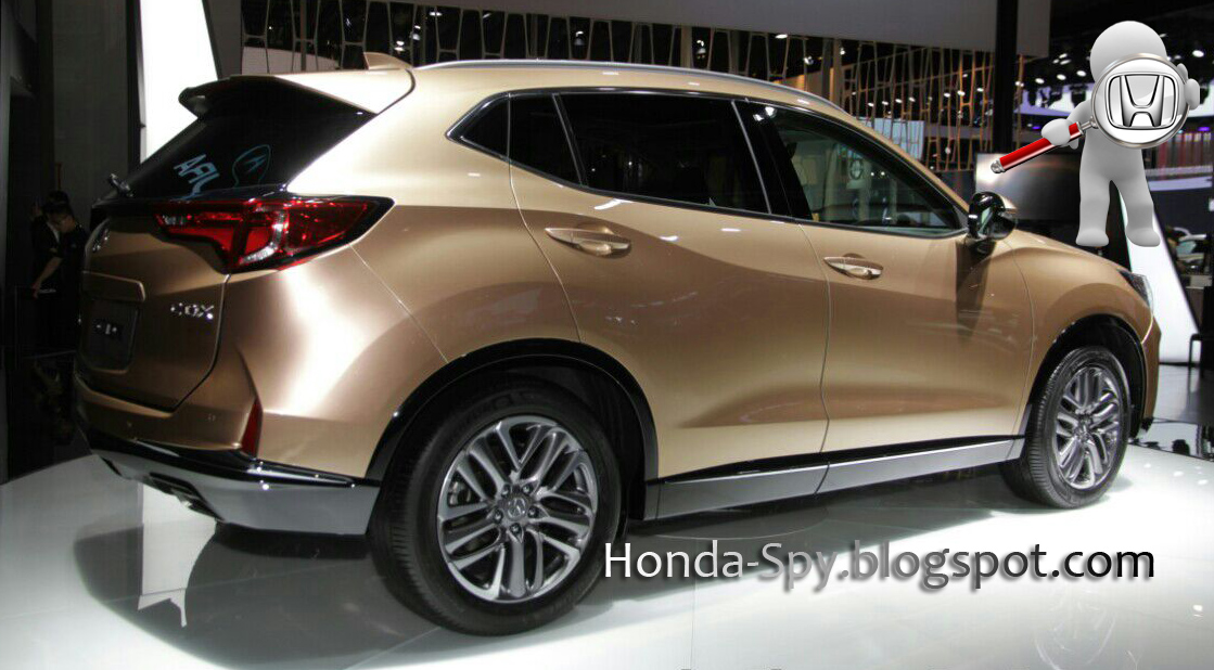 2017 Acura Cdx Photos From China Reveal Honda Spy