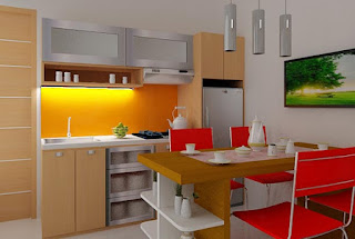 Desain Dapur Mungil Minimalis Yang Tetap Keren