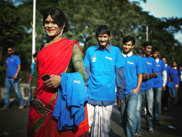World AIDS day rally in Dhaka
