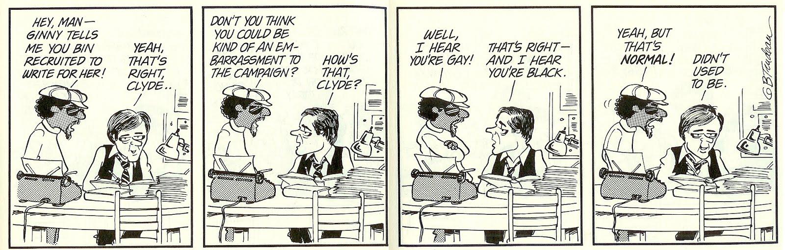 Civil right comic strip