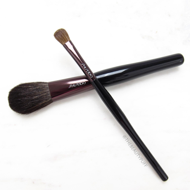 shiseido brushes - the beauty puff