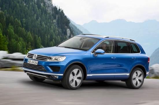 2018 Volkswagen Touareg Exterior Design