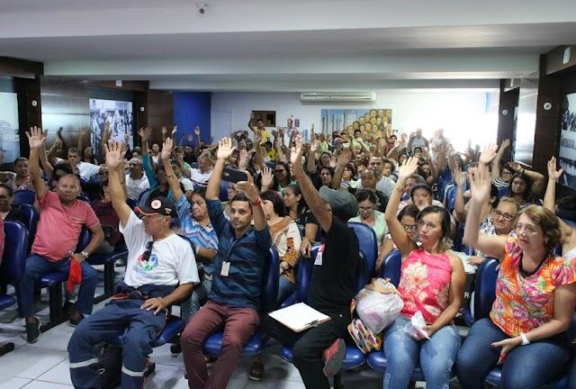 Servidores da Saúde anunciam início de greve para o dia 5 de fevereiro no RN