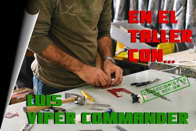 En el Taller con Luis Viper Commander - Custom Gi Joe