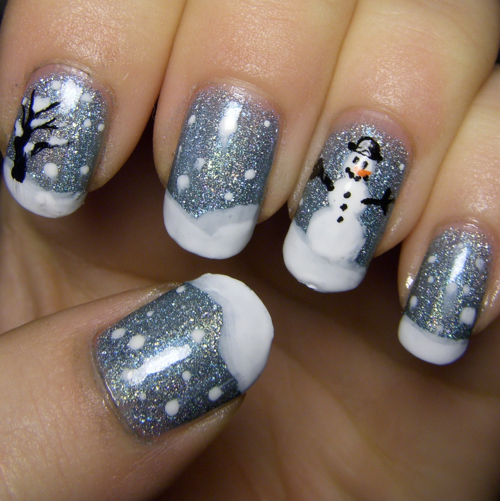 Nail Art: Quixii's Nails: 12/15/12