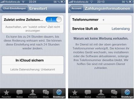 läuft whatsapp auf iphone 4