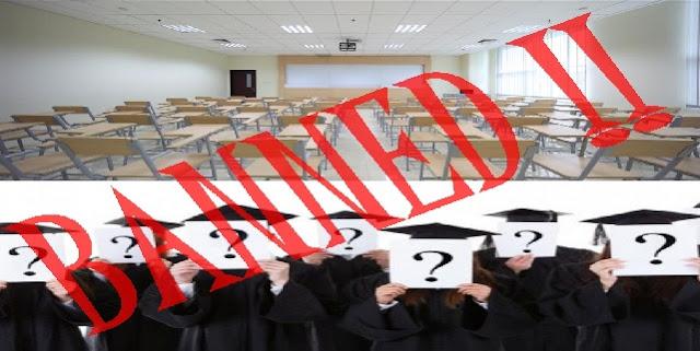 Daftar Perguruan Tinggi Yang Tidak Dapat Mengikuti Tes CPNS