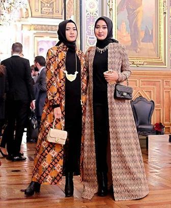 Model Baju Berhijab Untuk Wanita Gemuk Style Gamis