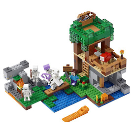 Minecraft The Skeleton Arena Lego Set