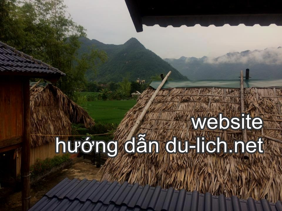 Hình ảnh phong cảnh bản Lác Mai Châu