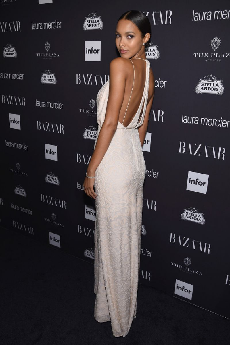 Full Wallpapers of Lais Ribeiro At Harper's Bazaar Celebrates Icons By Carine Roitfeld In New York City