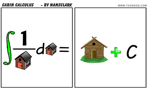 Cabin Calculus Cartoon Thursday An Engineer S Aspect