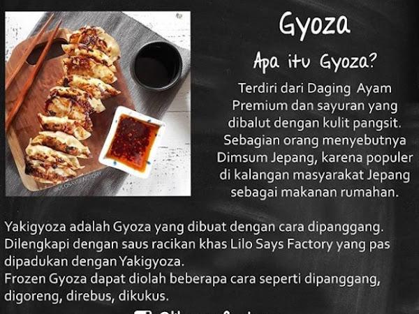 Gyoza Lilo Says Factory Halal and Oishii ne!