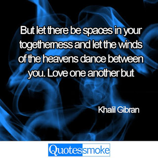 Khalil Gibran love quote