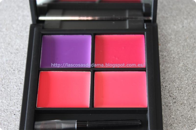 Paleta labiales Lip4 Mardi Gras Sleek maquillaje primor beauty belleza makeup