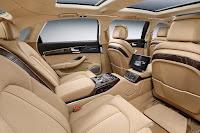 Audi A8 L Extended (2016) Rear Seats