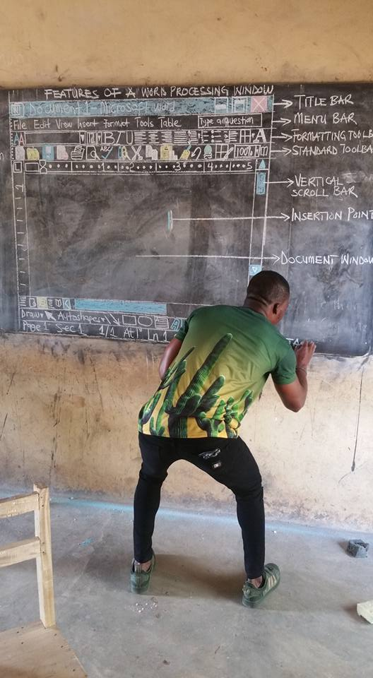 Teaching of ICT in Ghana's school is very funny.