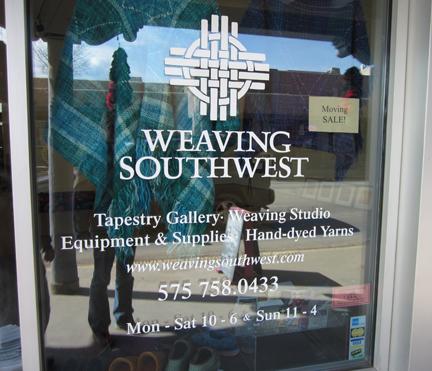 Rebecca Mezoff, Tapestry Artist: Weaving Southwest Visit and