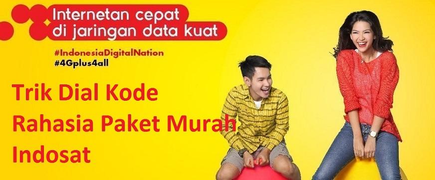 Trik Dial Kode Rahasia Paket Murah Indosat