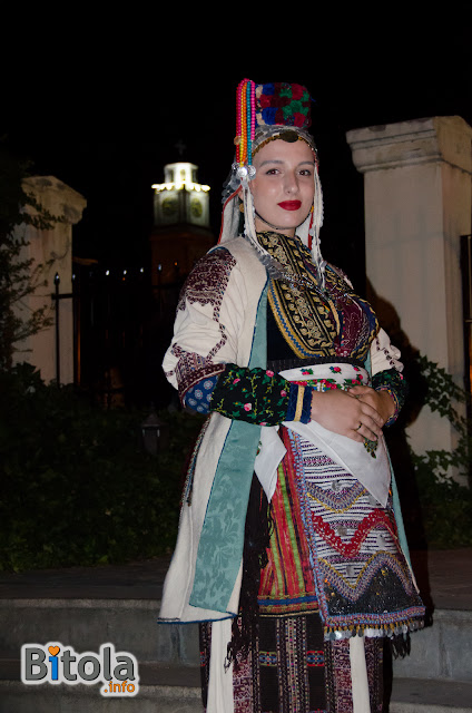 Macedonian national costume - Ethnic area villages under Suva Gora