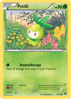 Petilil BREAKpoint Pokemon Card