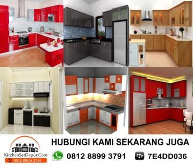 Jasa pembuatan kitchen set serpong hub 0812 8899 3791 for Bikin kitchen set murah