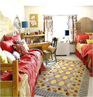 dormitorio de gemelas