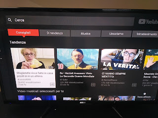 Youtube su Now TV