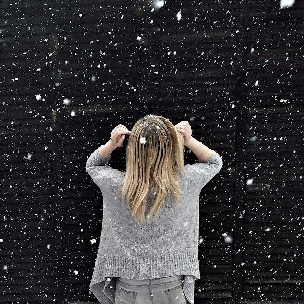 Zza kadru - czyli historia zdjęcia z płatkami śniegu