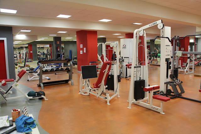 Imagen de archivo del gimnasio del polideportivo de Lasesarre