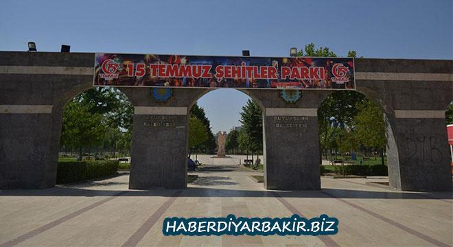 Diyarbakır'daki Parkorman ismi 15 Temmuz Şehitler Parkı olarak değiştirildi