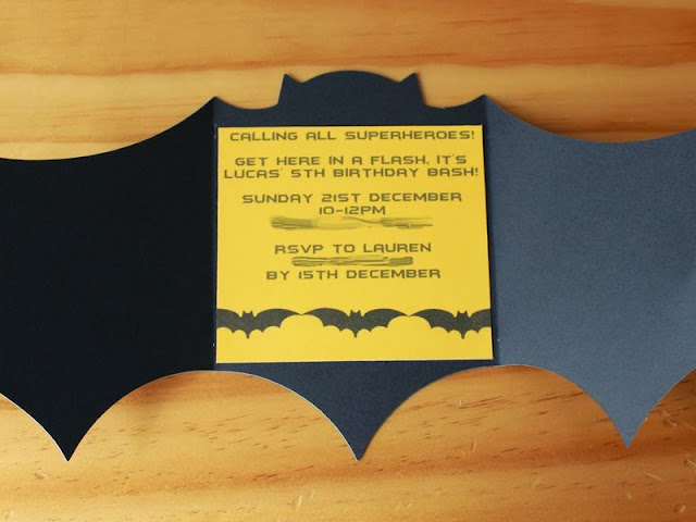 Batman Wedding Invitations