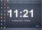 phần mềm treo đồng hồ, lịch trên desktop_5