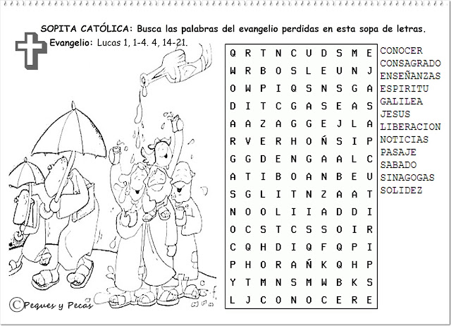 Parroquia la inmaculada septiembre 2013 for Espectaculo que resulta muy aburrido crucigrama