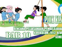 Rpp PJOK Kelas 5 SD Bab 10 Semester 2 Kurikulum 2013 Revisi 2017
