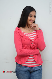 Telugu Actress Mouryani Latest Pos in Blue Denim Jeans  0032.JPG