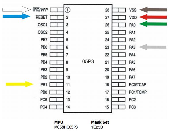 CarProg Manual: Carprog clone read Motorola MC68HC05