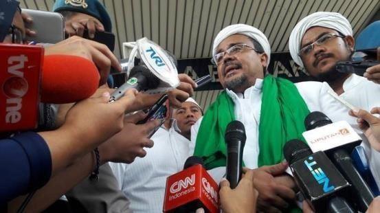 Besok, Polda Metro Jaya Periksa Habib Rizieq
