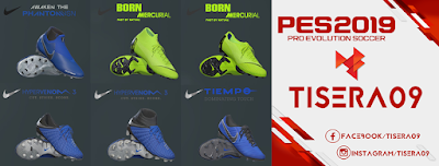 PES 2019 / PES 2018 Nike Always Forward Pack by Tisera09