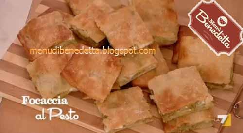 Focaccia Pesto E Patate Ricetta Da I Menù Di Benedetta Del 2332012