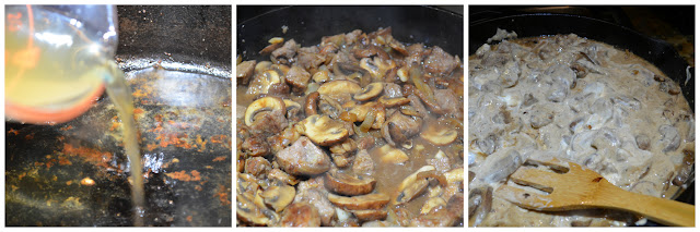 Beef Stroganoff recipe from scratch how to make stroganoff sauce from Serena Bakes Simply From Scratch.